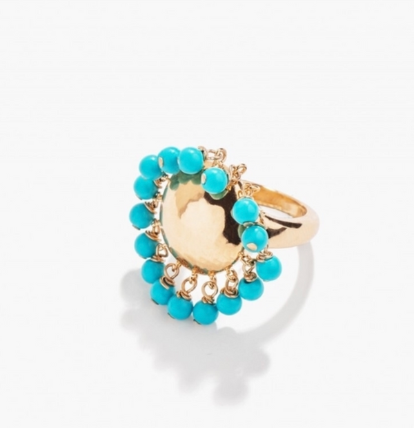 Ana Turquoise Ring