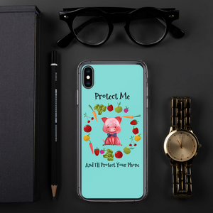 Little Protector iPhone Case™️ - 4 LONELY PIGGIES