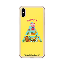 Load image into Gallery viewer, Rescue Me Yellow iPhone Case - 4 LONELY PIGGIES