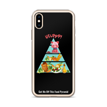 Load image into Gallery viewer, Rescue Me Black iPhone Case