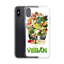 Load image into Gallery viewer, I Am Vegan iPhone Case