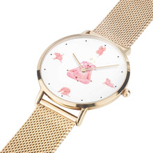Load image into Gallery viewer, Women's Namaste Piggy Yoga Watch - 4 LONELY PIGGIES