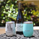 12oz Insulated Stainless Steel Wine Tumbler - Beach Glass