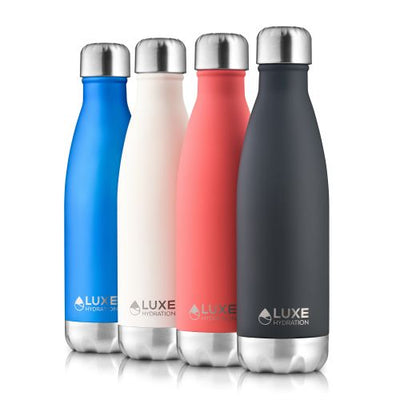 17oz Insulated Stainless Steel Water Bottle - Caviar
