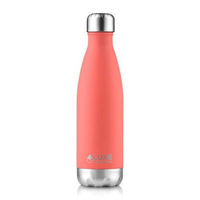 17oz Insulated Stainless Steel Water Bottle - Coral