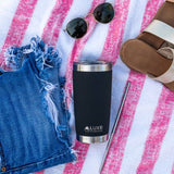 20oz Insulated Stainless Steel Tumbler - Caviar