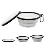 Luxe Pup® Collapsible Silicone Travel Bowl Set (33oz)