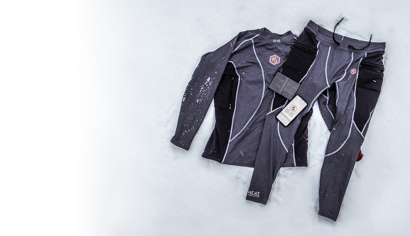 one-layer heated base layer cold weather gear