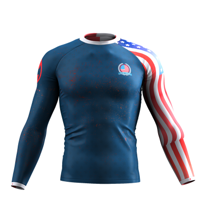 INDEPENDENCE - USA LONG SLEEVE RASH GUARD