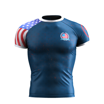 INDEPENDENCE - USA SHORT SLEEVE RASH GUARD