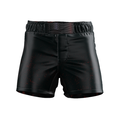 INDEPENDENCE - BLACK FIGHT SHORTS