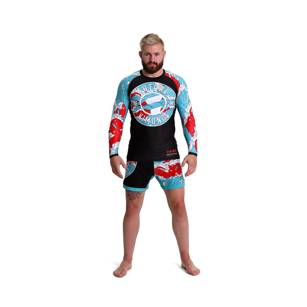 Blood In The Water - Long Sleeve Rash Guard