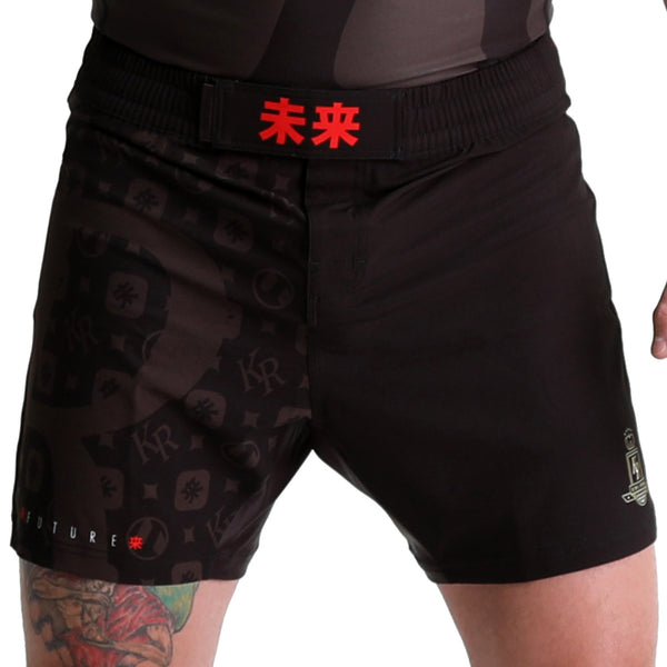 KING RYAN - Black Fight Shorts