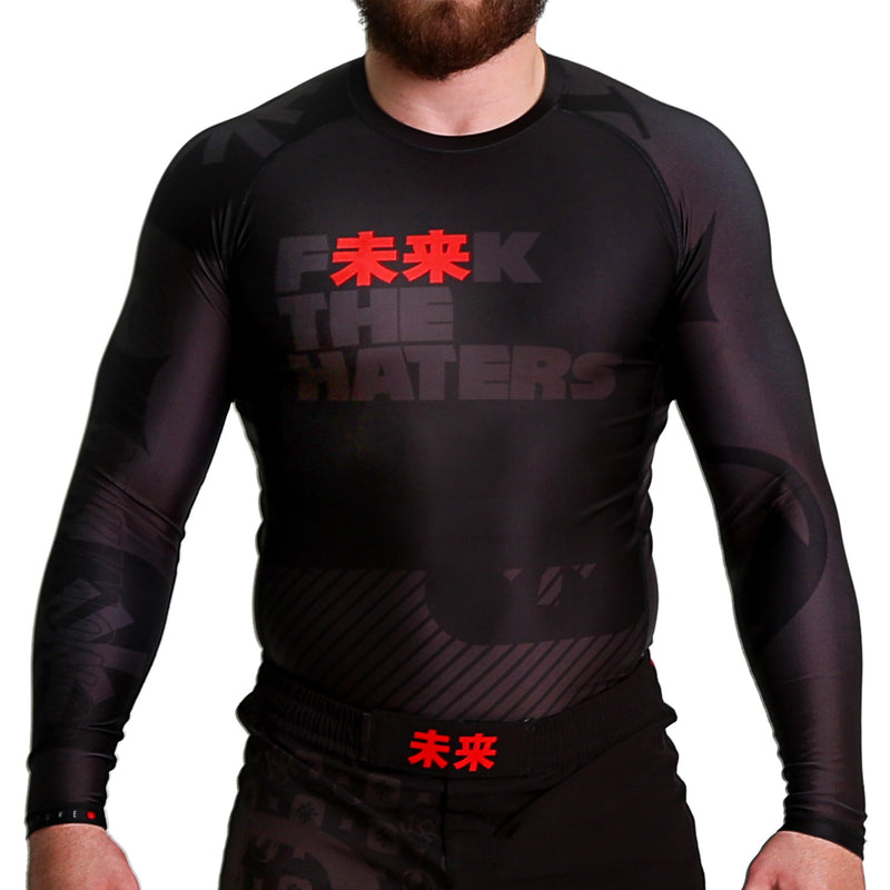 KING RYAN - F未来K The Haters Long Sleeve Rash Guard