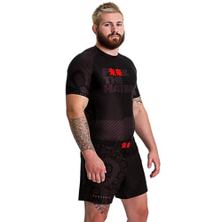 KING RYAN - F未来K The Haters Short Sleeve Rash Guard