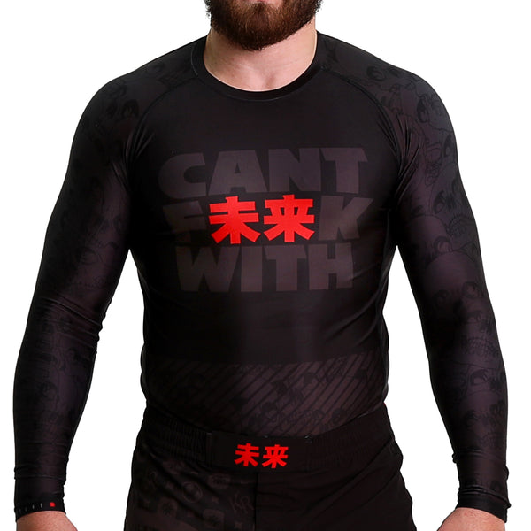 KING RYAN - Cant F未来K With Long Sleeve Rash Guard