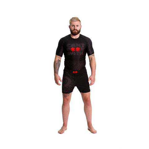 KING RYAN - Cant F未来K With Short Sleeve Rash Guard