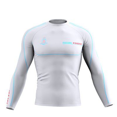 Gordon King Ryan 2020 - Long Sleeve Rash Guard White