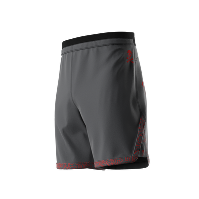 Sub Club - Grey Grappling Shorts