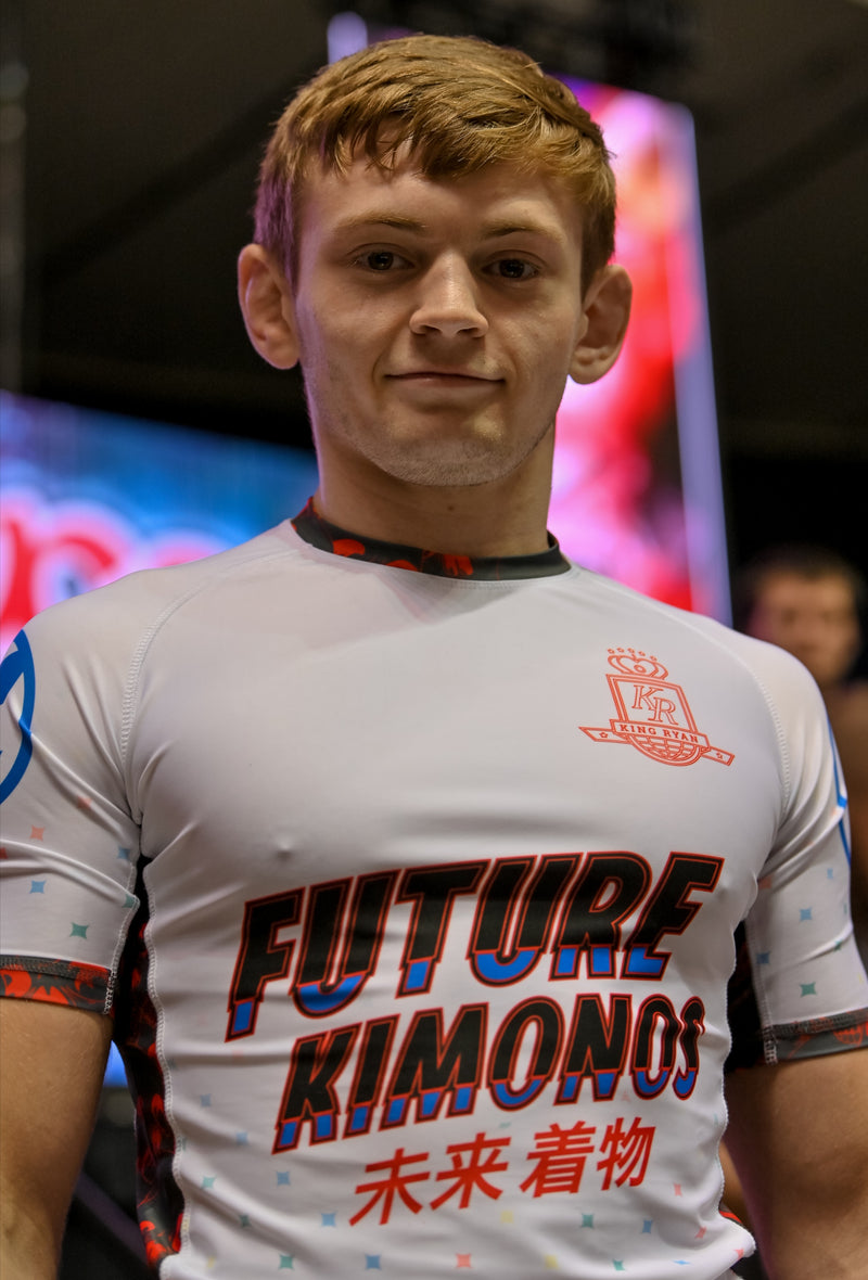 Nicky Ryan - ADCC Rash Guard White