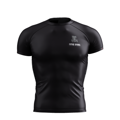 ELEMENTS SERIES - OBSIDIAN SHORT SLEEVE RASH GUARD