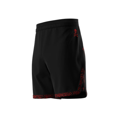 Sub Club - Black/Red Grappling Shorts