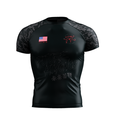 Under Dawg - Grey Short Sleeve Rash Guard