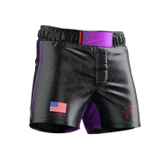 UNDER DAWG - PURPLE COMP SHORTS