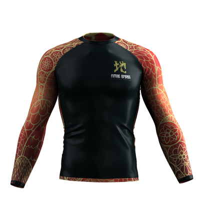 Elements Series - Earth Long Sleeve Rash Guard