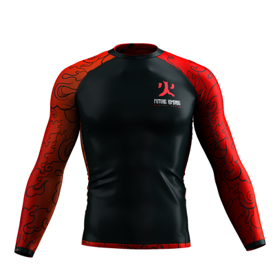 Elements Series - Fire Long Sleeve Rash Guard