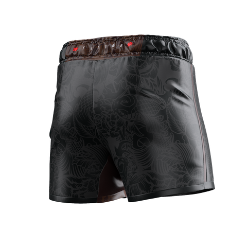 UNDER DAWG - BROWN COMP SHORTS