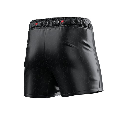 UNDER DAWG - GREY COMP SHORTS