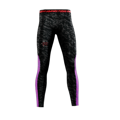 UNDER DAWG - PURPLE MENS COMP SPATS