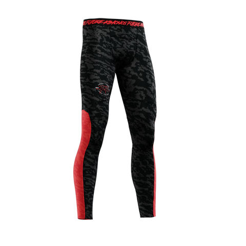 UNDER DAWG - RED MENS COMP SPATS