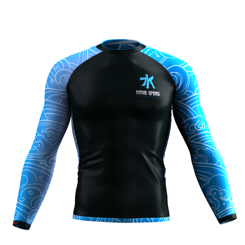 ELEMENTS SERIES - WATER LONG SLEEVE RASH GUARD