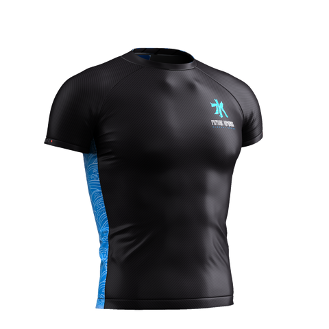 ELEMENTS SERIES - WATER SHORT SLEEVE RASH GUARD