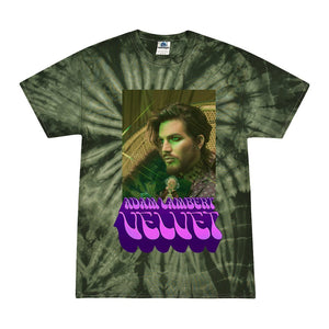 Faded Green Tie-Dye Picture Tee