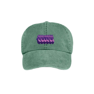 Green Velvet Dad Hat