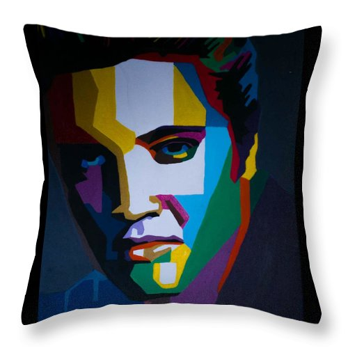 The King In Profile - Throw Pillow