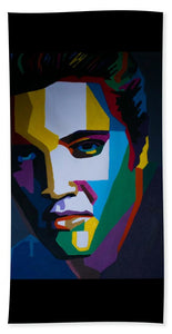 The King In Profile - Beach Towel