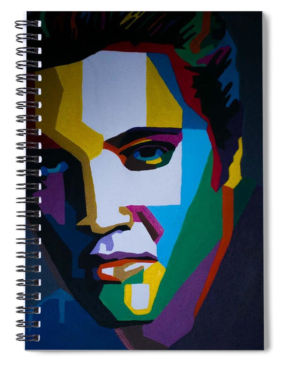 The King In Profile - Spiral Notebook