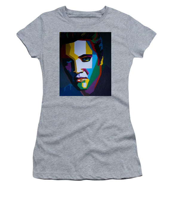 The King In Profile - Women's T-Shirt (Athletic Fit)