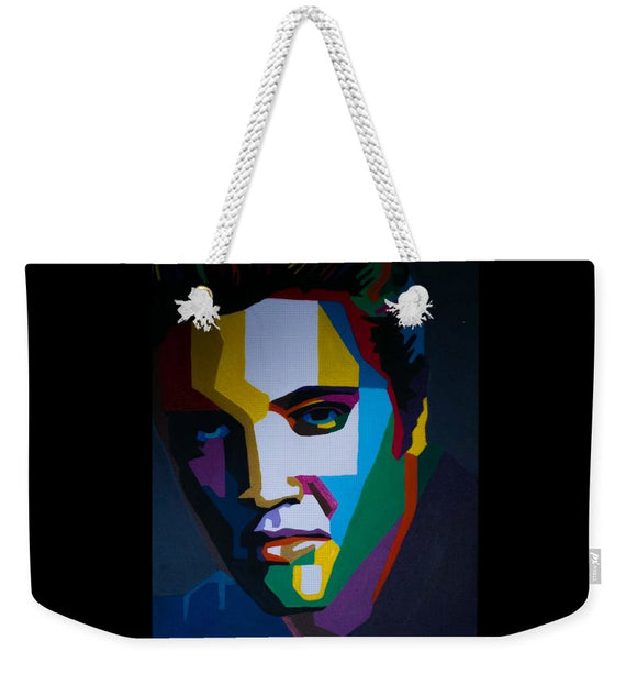 The King In Profile - Weekender Tote Bag
