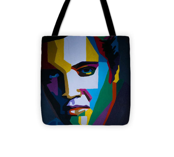 The King In Profile - Tote Bag