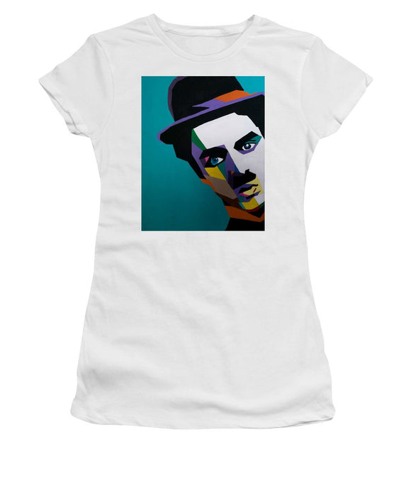 Charlie Chaplin - Women's T-Shirt (Athletic Fit)