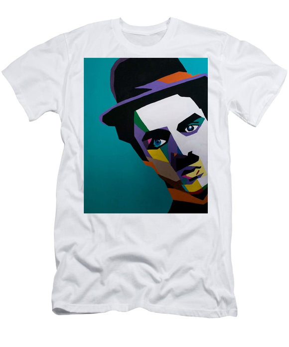 Charlie Chaplin - Men's T-Shirt (Athletic Fit)