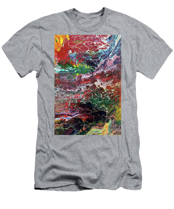 Colorful Chaos - Men's T-Shirt (Athletic Fit)