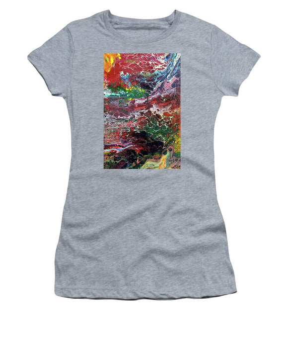 Colorful Chaos - Women's T-Shirt (Athletic Fit)