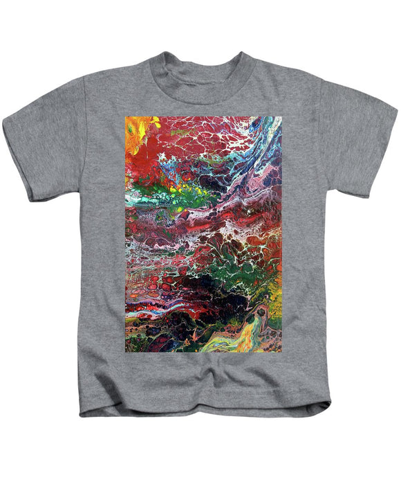 Colorful Chaos - Kids T-Shirt