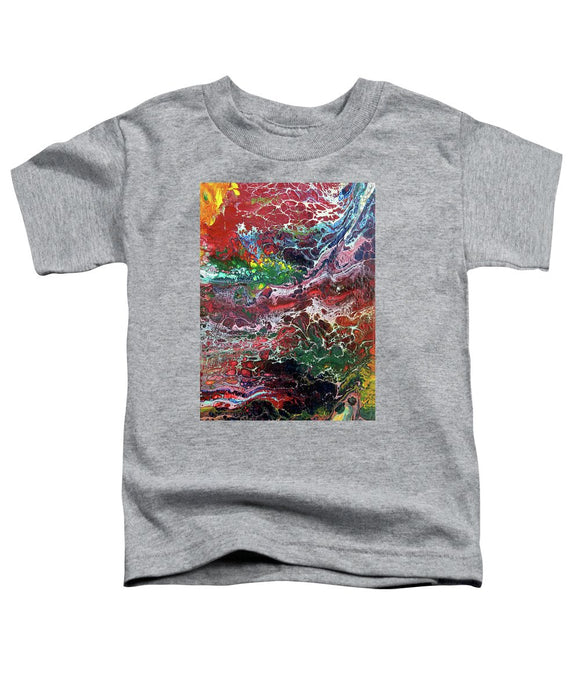 Colorful Chaos - Toddler T-Shirt